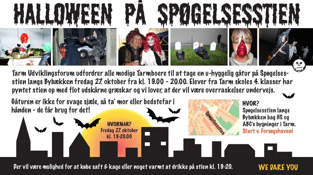 Halloween i Tarm